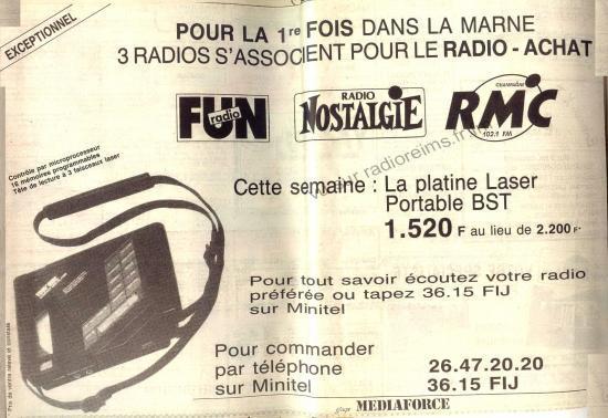 Après le TV achat, voici le radio achat