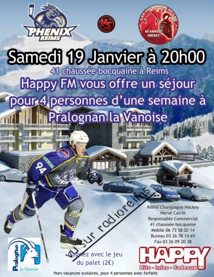 Jeu hockey Happy FM 2013