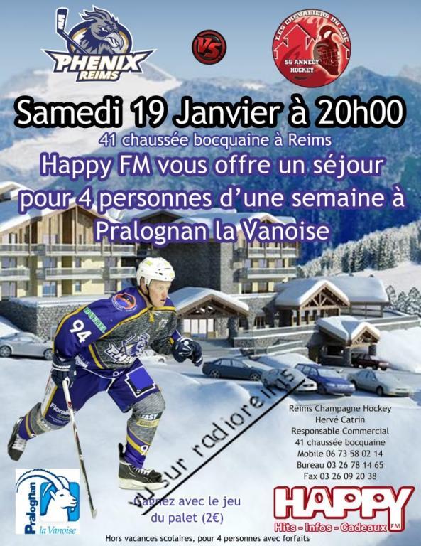Jeu hockey Happy FM 2013