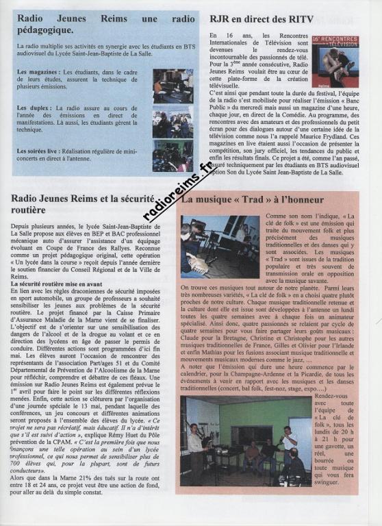 Le Mag RJR 2003 3