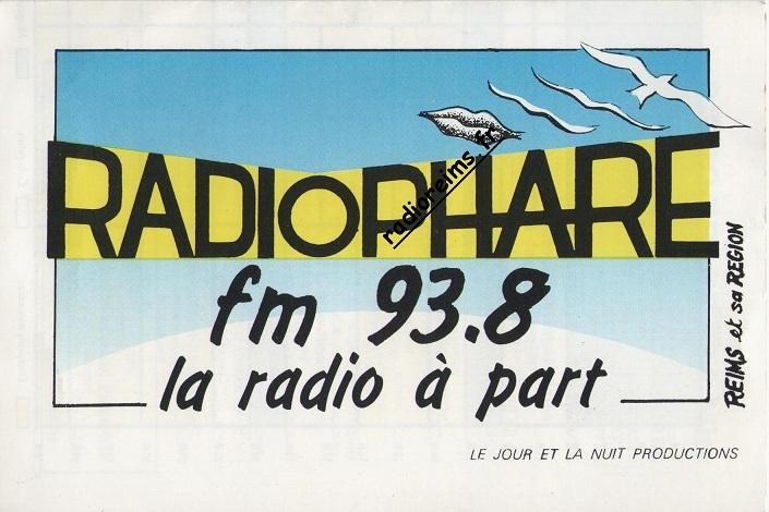 Logo Radio Phare 1988