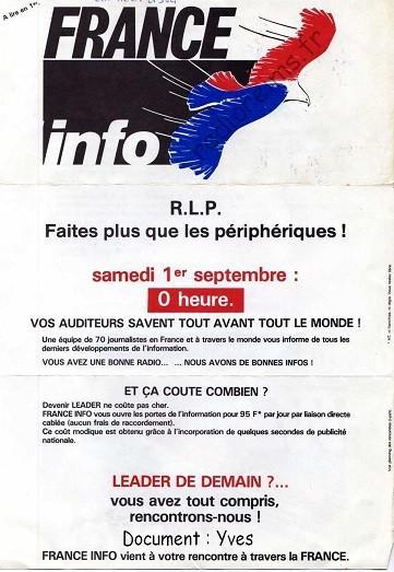 Plaquette France FM 1