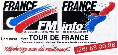 Plaquette France FM 3