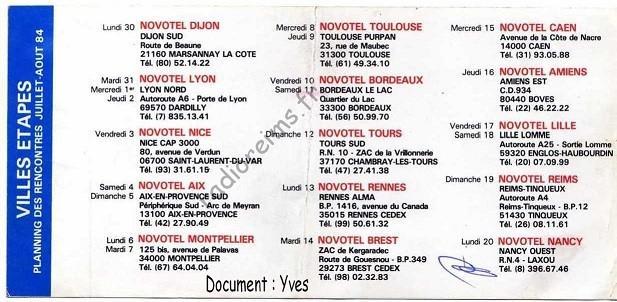 Plaquette France FM 4