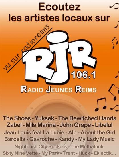 Pub artistes locaux RJR 2012