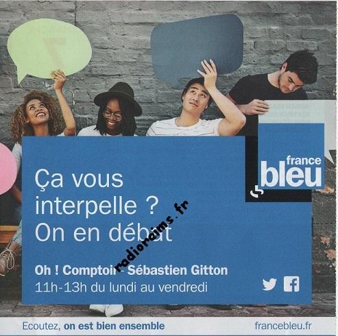 Pub émission France Bleu