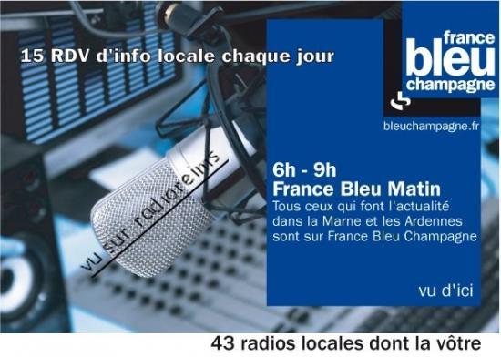 Pub info France Bleu 2013