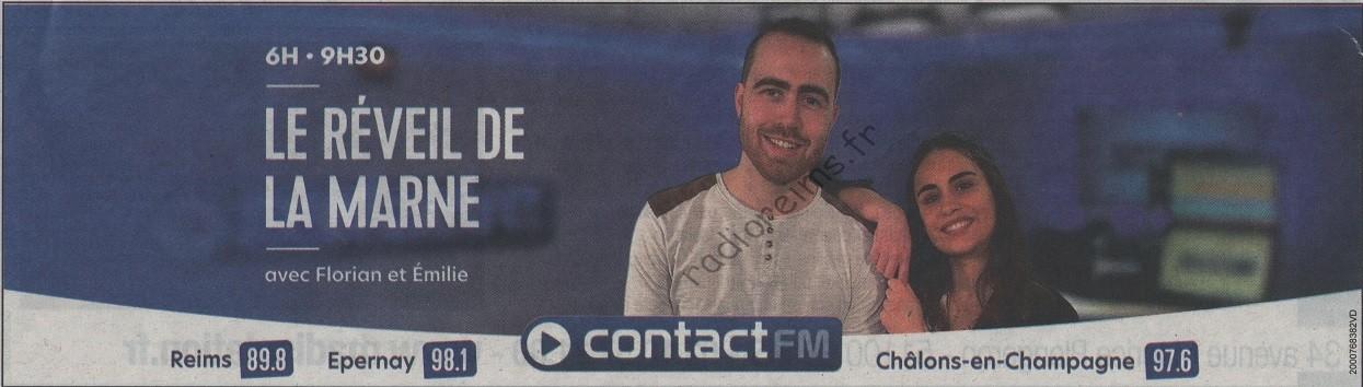 Pub matinale Contact FM février 2021