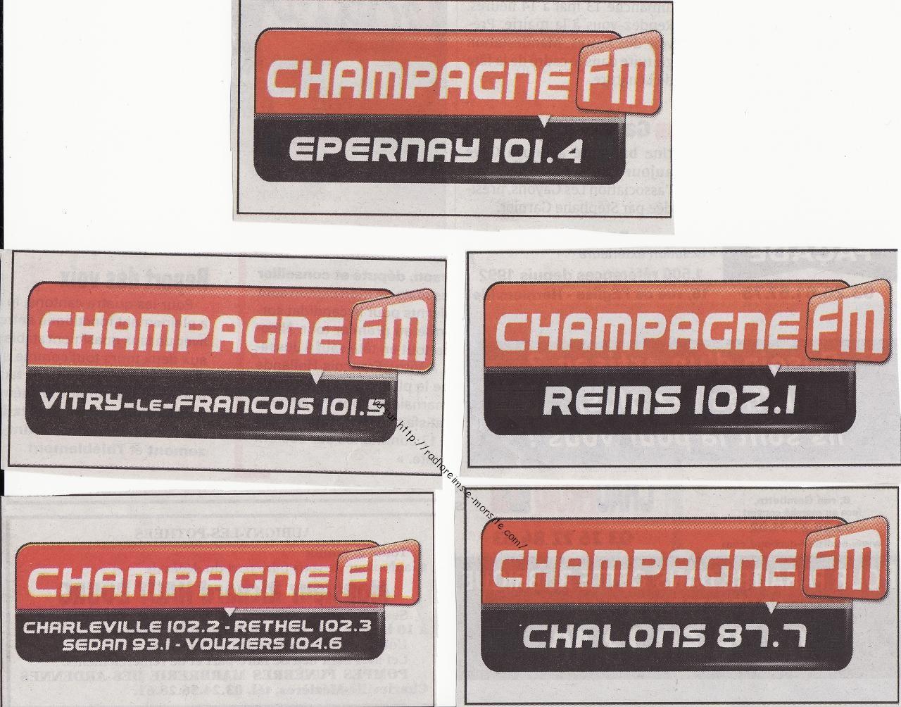 Pubs Champ FM sur l'Union 2012