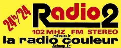 Autocollant Radio 2 Champagne-Ardenne