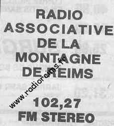 Radio Asso Montagne Reims 102.27