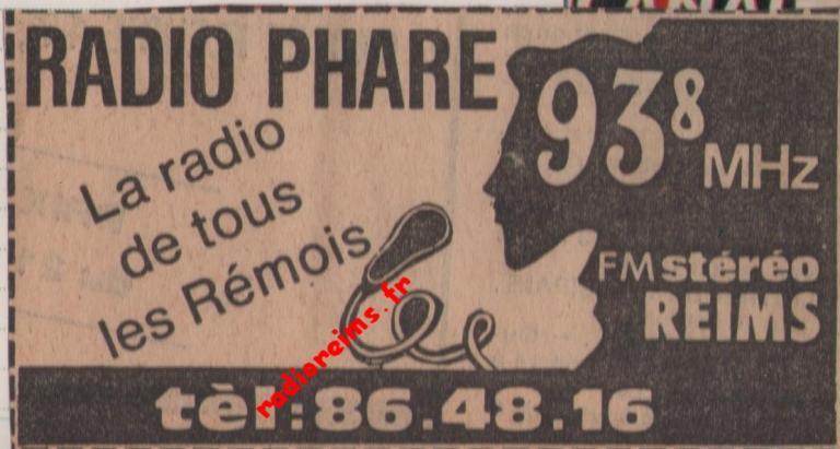 Radio Phare,  la radio des rémois