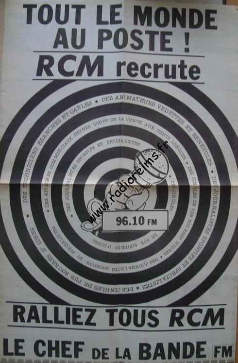 RCM recrute