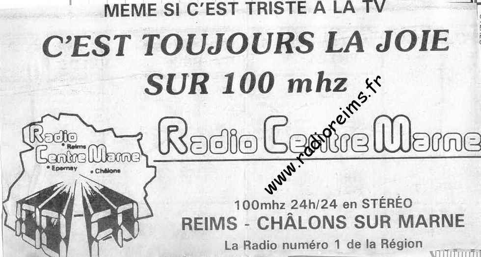 RCM Triste TV, joie radio