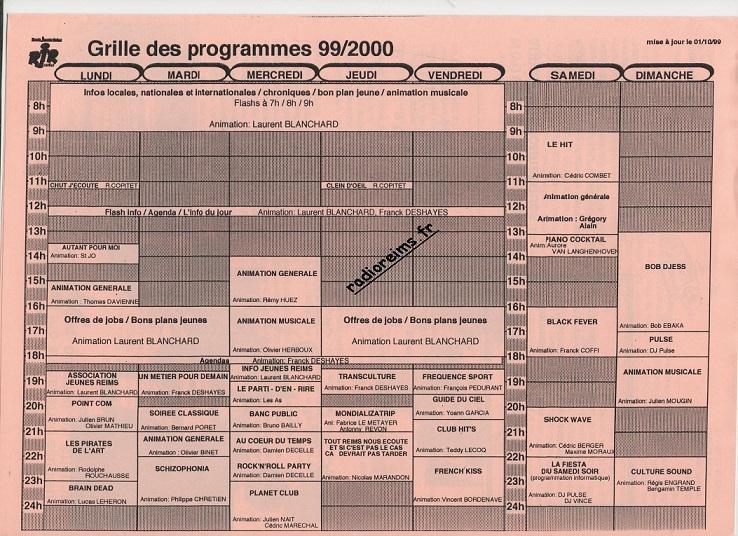 RJR 1999 2000