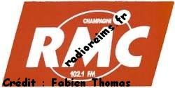 Logo RMC Champagne (crédit : Fabien Thomas)