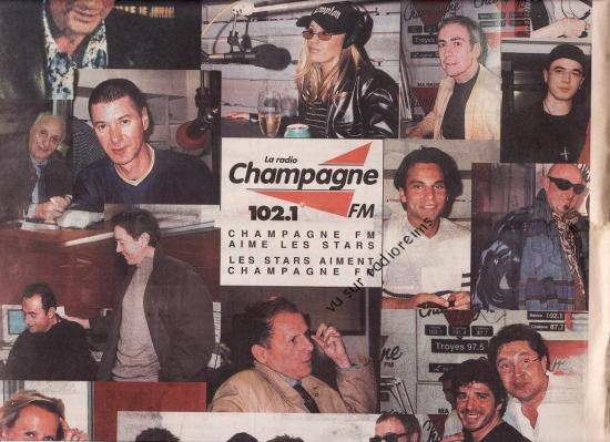 Stars sur Champagne FM en 2000 (suite)