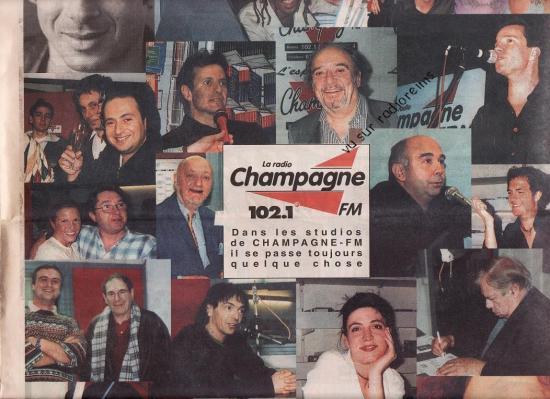 Stars sur Champagne FM en 2000